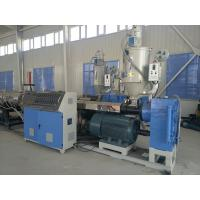 Buy cheap 20 - 160MM PE PPR Plastic Pipe Production Line / PE Cool and Hot Water Pipe Extrusion Machine from wholesalers