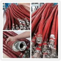 China Fireproof Fiberglass Braided Sleeving Fire Sleeve Used in Steel Plants on sale