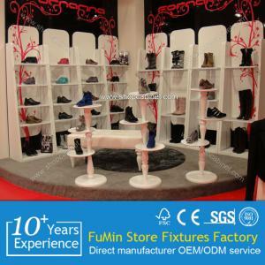 China Custom Stylish Acrylic Shoes Display stand on sale