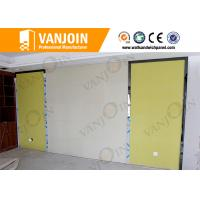Quality Fire Resistant Sandwich Roof Panels , Waterproof Self Adhesive Wall Tiles for sale