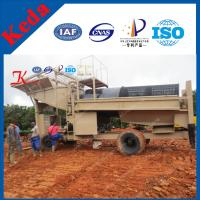 China Best Price Gold Panning Equipment Trommel Screen on sale