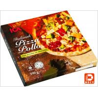 Buy cheap Italian Eco Friendly Empty Large Pizza Boxes 12 Inch Glossy Varnishing Surface from wholesalers