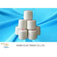 20/2 Raw White 100% Polyester Spun Yarn With Dyeing Tube
