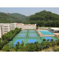 Buy cheap 3-8mm Thickness Basketball Sport Court ,  Outdoor Tennis Court Flooring Material from wholesalers
