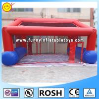 Buy cheap Fire - Proof Durable Inflatable Sport Game , Inflatable Goal Frame For Sport Party from Wholesalers