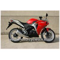 Buy cheap Water-Cooled Red Drag Motorcycles Road Racing , Honda CBR150 Sports Car from Wholesalers