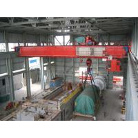 Buy cheap 32 ton Heavy Duty Double Girder Overhead Crane With Electric Hoist from Wholesalers