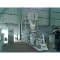 Buy cheap 600kg/h double screw extruder Vietnam fish feed machine price from Wholesalers