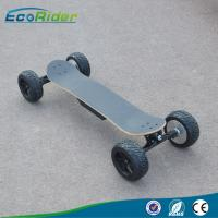 Quality Fat Tire Fast Speed 4 Wheel Skateboard / Off Road Electric Skateboard For Adult wholesale