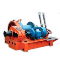 Buy cheap 5 Ton - 15 Ton Electric Wire Rope Winch For Hoisting , Fast Slides Windlass from wholesalers