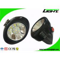 Quality High Lightness LED Mining Cap Lamp 6 - 8 Hours Working Time With Colorful PC for sale