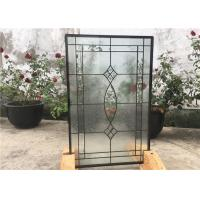 China Contemporary Collection Solid Flat  Decorative Tempered Glass Windows on sale