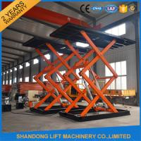 Buy cheap Hydraulic Scissor Car Lift For Underground Parking from wholesalers