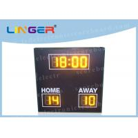 Quality 8 Digits Simple Function LED Football Scoreboard with Wire Controller wholesale