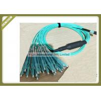 Buy cheap 3m / 5m / 10m Optical Patch Cord 1250 ~ 1650nm Wavelength With MPO - LC Connector from wholesalers