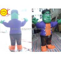 Quality Cosplay Green Man Inflatable Shrek Costume Mobile Cartoon Character wholesale