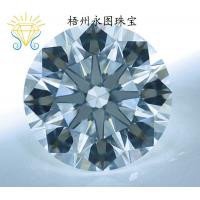 China clear white simulated star cut zirconia gems on sale