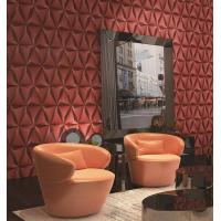 Buy cheap Modern Foam Vinyl Embossed Wallpaper / Interior Design Wall Paper With 3D Effect from wholesalers
