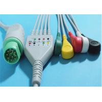 Buy cheap Siemens Drager 5 Lead ECG Patient Cable For Patient Monitor 10 Pin Connector from Wholesalers