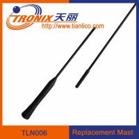 Buy cheap 1 section mast car antenna/ replacement mast car antenna/ car antenna accessories TLN006 from wholesalers