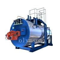 Quality High Pressure Gas Fired Steam Boiler , 1 Ton Atomized Steel Steam Gas Heating Boiler for sale