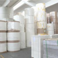 China Recycled Insulated Single / Double Wall Pe Coated Paper Material Gsm 250g - 350g on sale