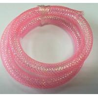 Buy cheap PET Decorative Wire Mesh Sleeve Covers , Expandable Mesh Tube from Wholesalers