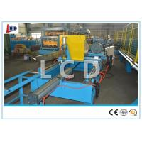 Seam Lock Pipe Cold Roll Forming Machine 350H Steel Frame Hydraulic Cutting