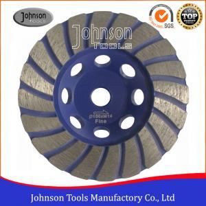 Quality GB OD 105mm Diamond Turbo Cup Wheel For Stone / Hard Granite / Hard Brick wholesale