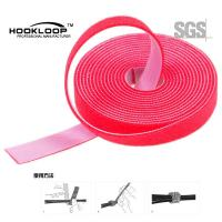 Quality Garments Industrial Ultra Thin Hook And Loop Fastening Tape Low Shinkrage wholesale