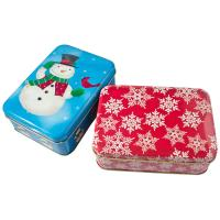 Buy cheap Holiday Cookie Metal Tin Container , Food Storage Tinplate Boxes from Wholesalers