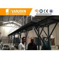 China Lightweight Concrete Wall Panel Roll Forming Machine Vertical With Mixing System on sale