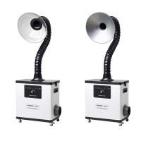 Buy cheap Metal body White table top fume extractor for beauty salon fume & moxibustion fume from wholesalers