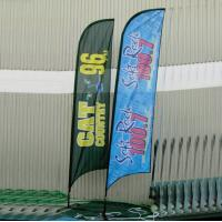 Quality Polyester Feather Flag/Advertising exhibition event outdoor Flying banner, feather flag wholesale