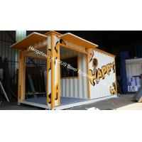 Buy cheap Sandwich panel knock down practical 20ft container house for living house from wholesalers