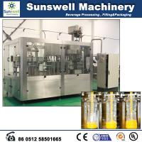 Buy cheap High Frequency Beverage Processing Machine Fruit Works Apple Raspberry from Wholesalers