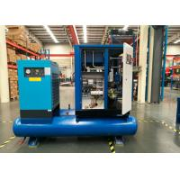 China Tank Mounted 25 Hp Screw Air Compressor , Diesel Air Compressor Filters Combined 18.5Kw on sale