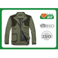 Quality Olive Color Hunting Fleece Clothing For Hunting Hiking Camping wholesale