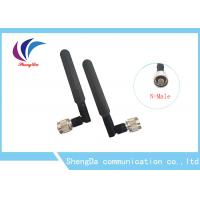 Buy cheap External Car Rubber Antenna , Rubber Auto Antenna Wifi Router Booster Vertical Polarized from Wholesalers