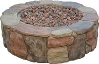 Buy cheap gas fire pit, round fire pit, stone fire pit from Wholesalers