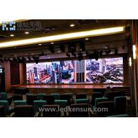 Buy cheap Professional RGB indoor full color led display screen P2.5 Cabinet 480mmx480mm from wholesalers