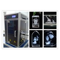 Buy cheap Diode Pumped 3D Laser Glass Engraving Machine , Computerized 3D Laser Carving Machine from Wholesalers