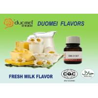 100% Pure Strong Concentrate Fresh Milk Flavor Yellow To Light Yellow