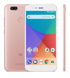 China Global Version Xiaomi Mi Mobile Phone Multi Language Dual SIM Card Android 7 A1 on sale