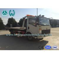 Buy cheap 190 HP Light Duty Rollback Wrecker Tow Truck Mechanical Transmission from Wholesalers