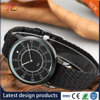 Buy cheap quartz Wrist Watch weave strap Watch delicate  Fashion Watch  AlloyCase custom LOGO Multicolor strap Monochrome from wholesalers