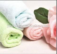 Plain solid color dyed towels