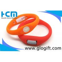Quality Waterproof Silicone Ion Sports Watch Non-toxic wholesale