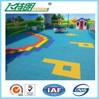 Quality Polypropylene Playground Rubber Mats Outdoor Interlocking Sports Flooring wholesale