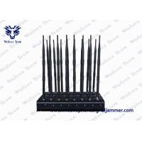Buy cheap Remote Control Mobile Phone Signal Jammer Full Bands 16 Antennas With AC Adapter from wholesalers